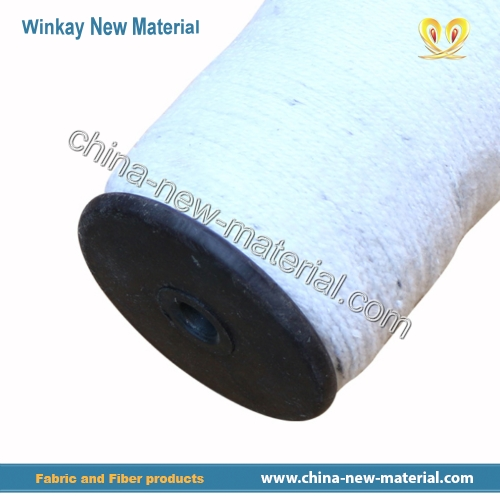 High temperature resistant ceramic fiber yarn